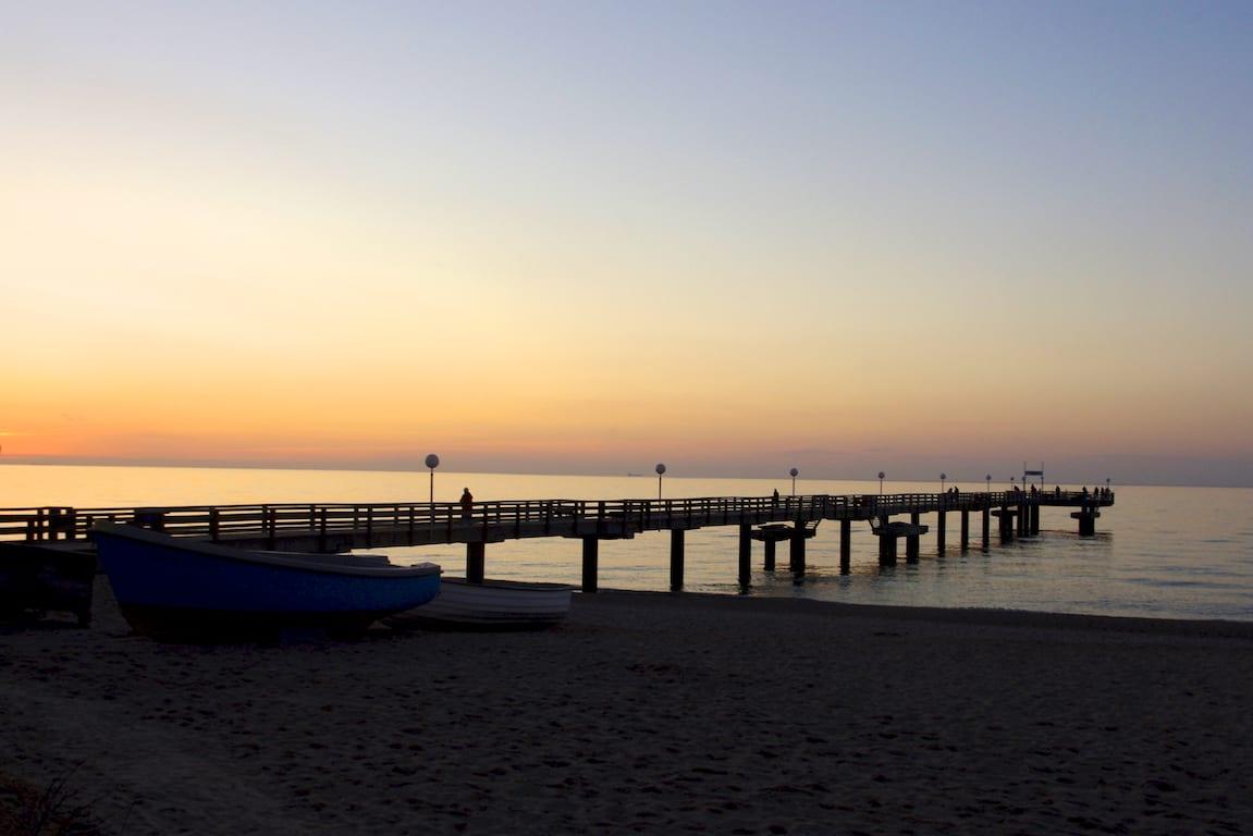 Rerik Seebrücke Sonnenuntergang